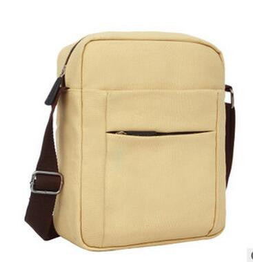 2015 Fashion Vintage Men Solid Color Messenger Bags Casual Outdoor Travel Canvas Crossbody Bag Male Quality Handbags