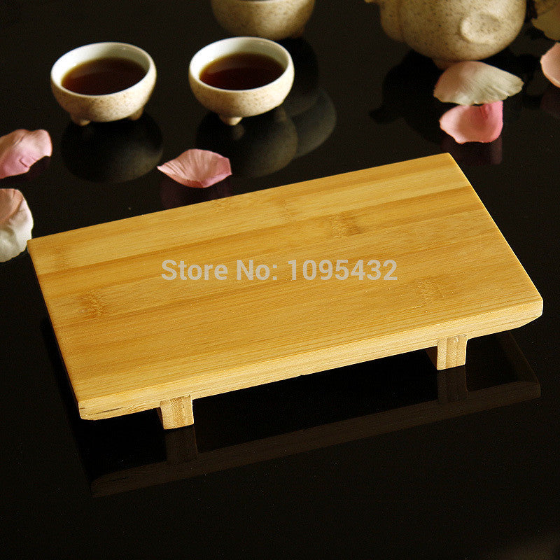 2015 Free Shipping Japanese Style 24*14*3.5cm Bamboo Sushi Plate,Sushi Trays Cooking Tools Best-selling