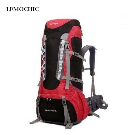 2015 Hot sell free shipping new Outdoor mountaineering bag 60L large capacity double-shoulder travel backpack