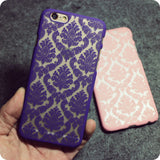 2015 New Arrivals Phone Case Back Cover for IPhone 6 Cases Damask Vintage Flower Pattern Luxury 4.7''inch