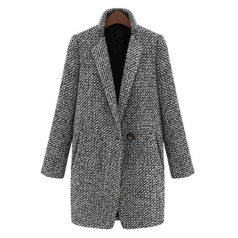 A/W Women Medium Long Coat