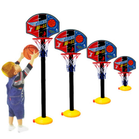 2015 New Kids Sports Portable Basketball Toy Set with Stand Ball & Pump Toddler Baby
