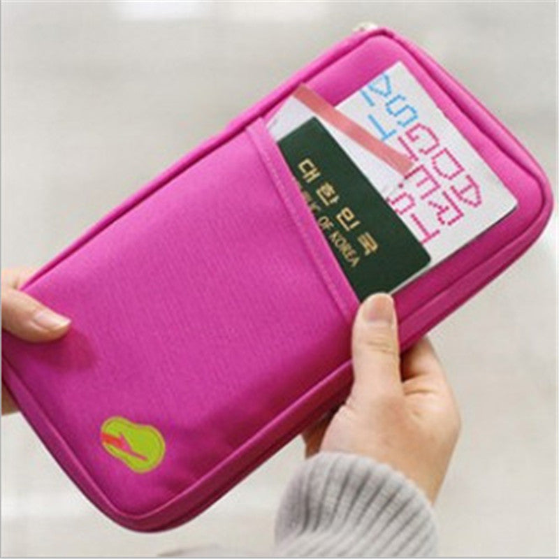 2015 New Women Men Passport Credit Card ID Card Cash Holder