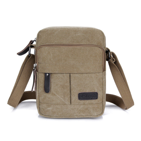 1aa64e8b6869 2015 Vintage Multifunctional Men s Messenger Bag Casual Canvas Men Outdoor  Travel