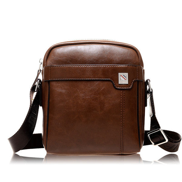 2015 fashion bolsas vintage small men bag pu leather bolsos male one shoulder crossbody messenger bags casual man bag