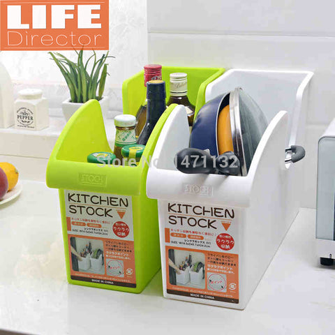 Kitchen Shelf Storage Rack Tool Holder
