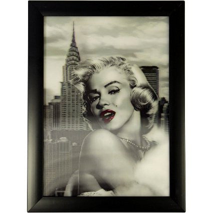 Iconic 3D 25x35cm - Marilyn (C) - Shopy Max