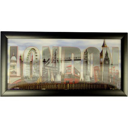 Iconic 3D 23x50cm - London - Shopy Max
