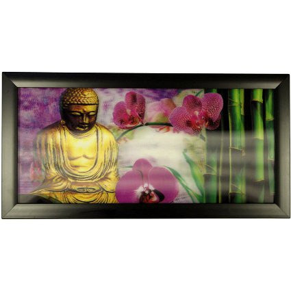 Iconic 3D 23x50cm - Golden Buddha - Shopy Max