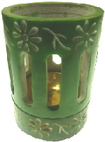 Coloured Incense / Resin Burner- Green
