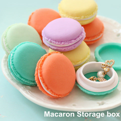 6 pcs/Lot Mini Teddy Macaron Storage Box Candy Organizer For Jewelry Caixa Organizadora Zakka & Storage Boxes u0026 Bins | Shopy Max