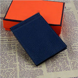 2015 new! Male genuine leather Classic design H Money Clips/Money Clip/wallets.