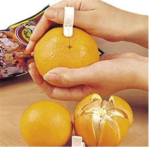 3pcs/lot Cooking Tools Parer Finger Type Open orange peeler machine Orange Device