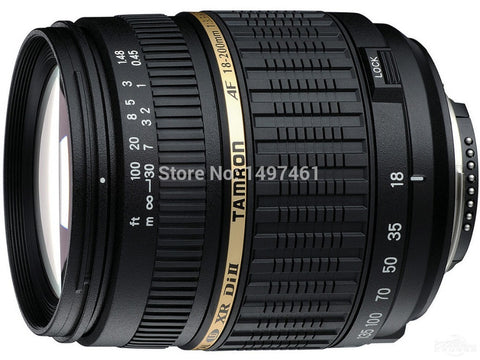 100% NEW For Tamro 18-200mm f/3.5-6.3 XR DI-II LD Aspherical (IF) AF Long telephoto and Automatic focusing lens For Canon mouth
