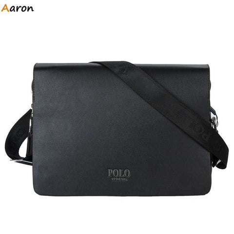 39b3dd2a4a43 Aaron - Horizontal Large Size Leather Man Bag