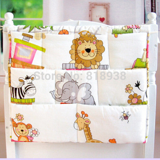Baby bed bag baby diaper bottle bags toy bags storage baby bedding set crib cot nappy changing bag Bed Diapers - Shopy Max