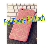 Brand New Glam 2015 Flower Hard Plastic Back Mobile Phone Skin Case Cover