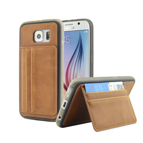 Brand New Luxury PU Leather Case Wallet Card Stand Cover Mobile Phone