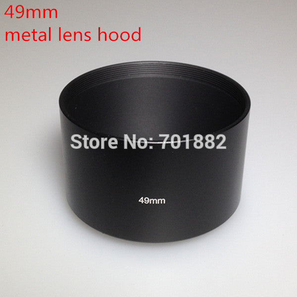 49mm Telephoto Metal Lens Hood 49mm for all DSLR camera