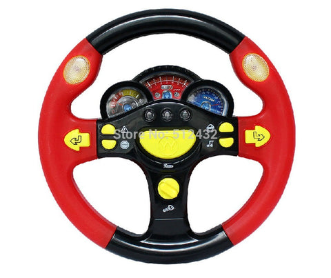 Children's Steering Wheel Toys Baby Early Childhood Educational Driving Simulation