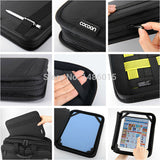 XL L M S Size Cocoon Grid It Wrap Case Cover Organizer System Kit Case Bag In Bag For Electronic Gadgets Black Travel Bag Insert