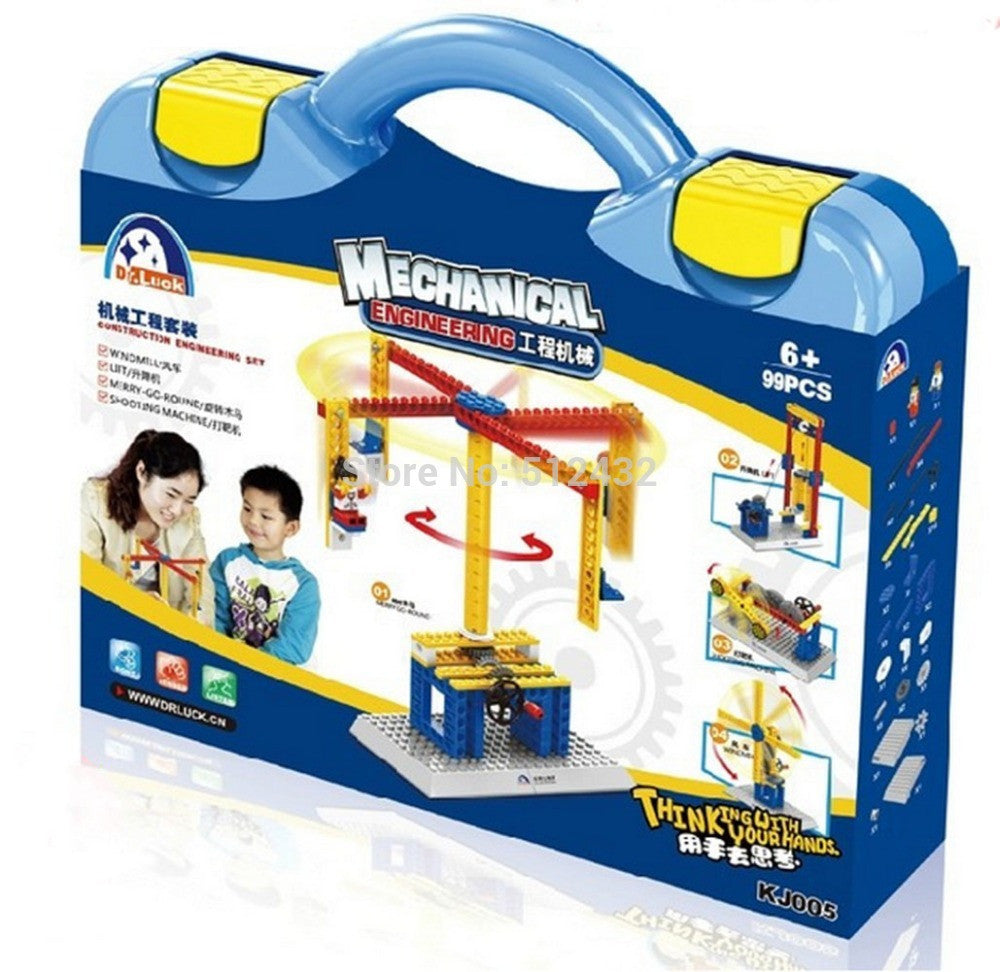 Construction Engineering Set Children's Educational Building Blocks Toys