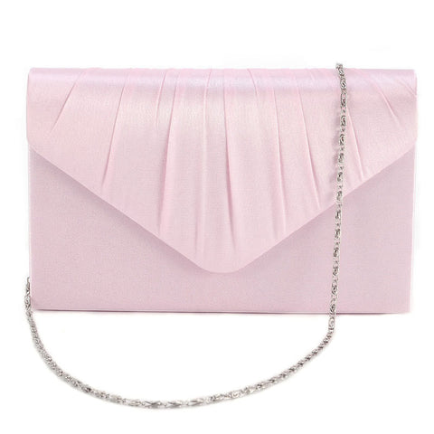 Evening Satin Women Bag Wedding Bridal Clutch Bag Party Prom Handbag Purse