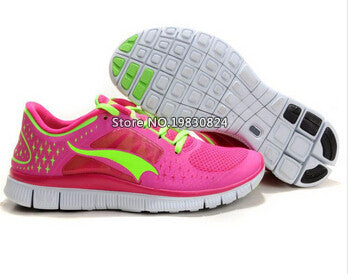 Free shipping 2015 women's barefoot running shoes,Ultralight breathable Mesh 5.0 sneaker for women V3 outdoor sport shoes