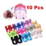 10x Travel Flocking Multifunction Pile Coating Colors Magic Hook Hanging Mini PTCT - Shopy Max