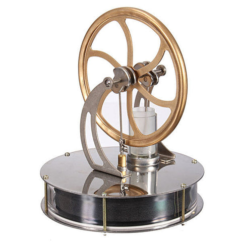 High Quality Temperature Stirling Engine Motor Model Cool No Steam Education Toys Child Kid Gifts New