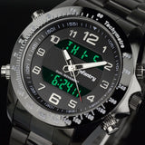 Infantry New Over Size Military Digital Stainless Steel Watch