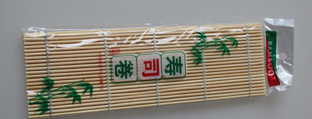 New Practical Japanese Sushi Rolling Bamboo Mat w/Rice Paddle Set Perfect for Home new stye