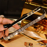 New style Top quality Luxury Bling Snake Diamond Inlay Metal Rhinestone Bumper fashional phone case for iPhone 5 5s