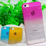 phone shell fresh raindrops Gradient case for iphone5 phone protective cover protective shell