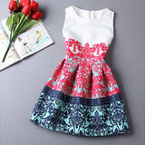 Rosalind 2015 Women Summer Style Dress Vintage Sexy Party vestidos Plus Size Female Maxi Boho Desigual Clothing Bodycon Robe - Shopy Max