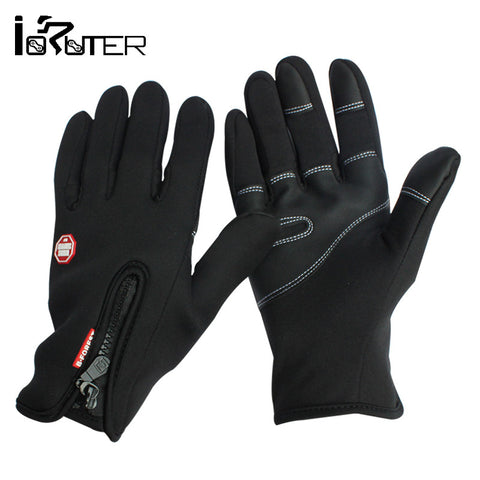 Windstopper Outdoor Sports Skiing Touch Screen Glove,Cycling Gloves Keep Warm Mountaineering Military Racing Gloves