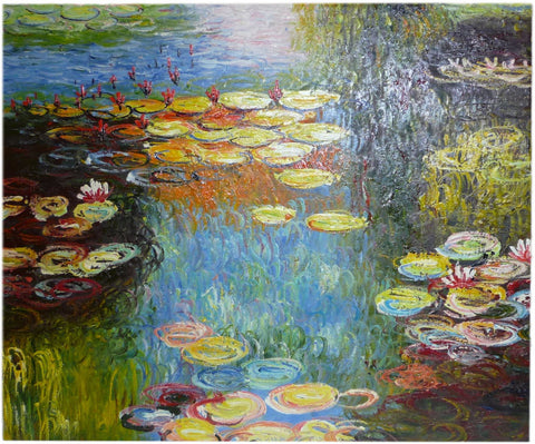 After Monet - 50cm x 60cm