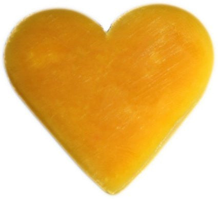 6x Heart Guest Soaps - Orange & Warm Ginger - Shopy Max