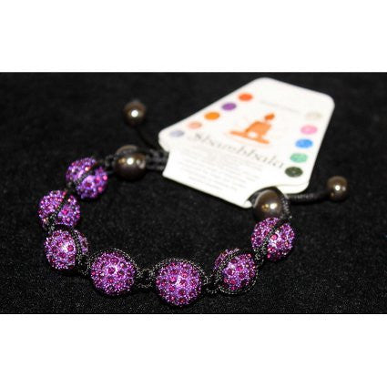Shambhala 7 Amethyst Beads 14mm - Shopy Max