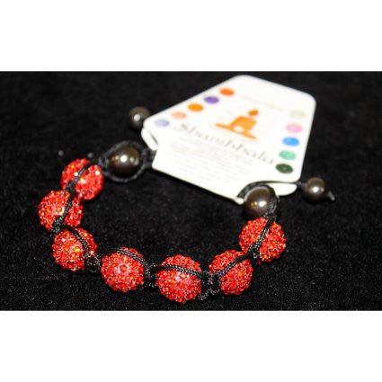 Shambhala 7 Ruby Beads 14mm - Shopy Max