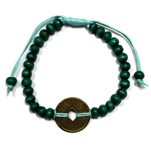 Good Luck Feng Shui Bracelet - Green - Shopy Max