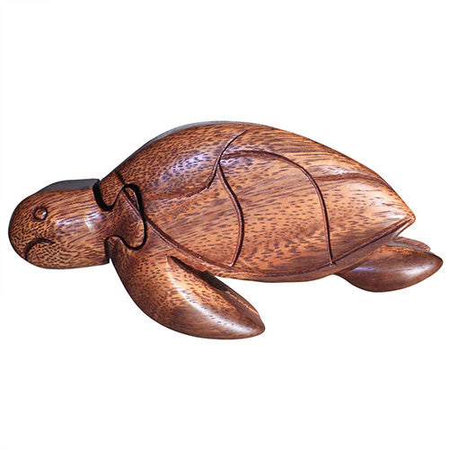 Bali Puzzle Box - Sea Turtle - Shopy Max