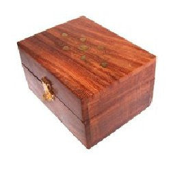 Aromatherapy Wooden Box-holds 12x10ml bottles - Shopy Max
