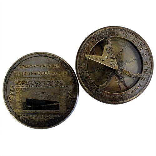Titanic Compass & Sundial Collectible - Shopy Max