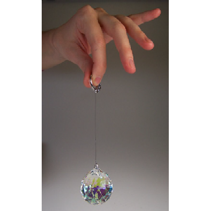 30mm Crystal Sphere - AB - Shopy Max