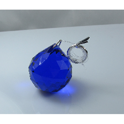 30mm Crystal Sphere - Dark Blue