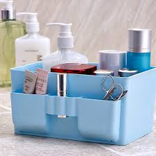 Folding Multifunction Makeup Cosmetic Storage Box Container Case Organizer