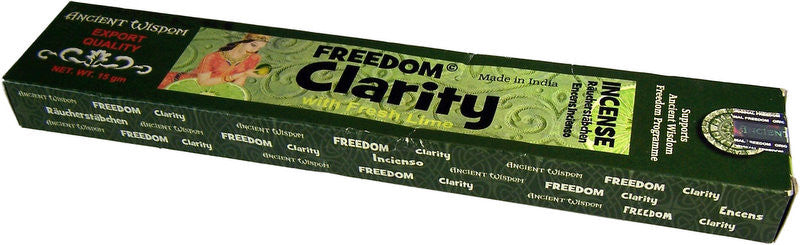 Clarity Freedom Incense Sticks - Shopy Max