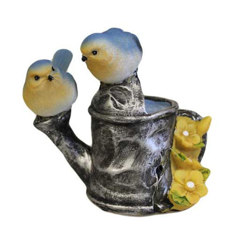 Tweet Alert - Two Blue Birds on Watering Can