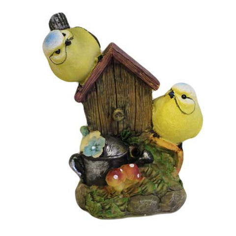 Tweet Alert - Two Birds on Bird House